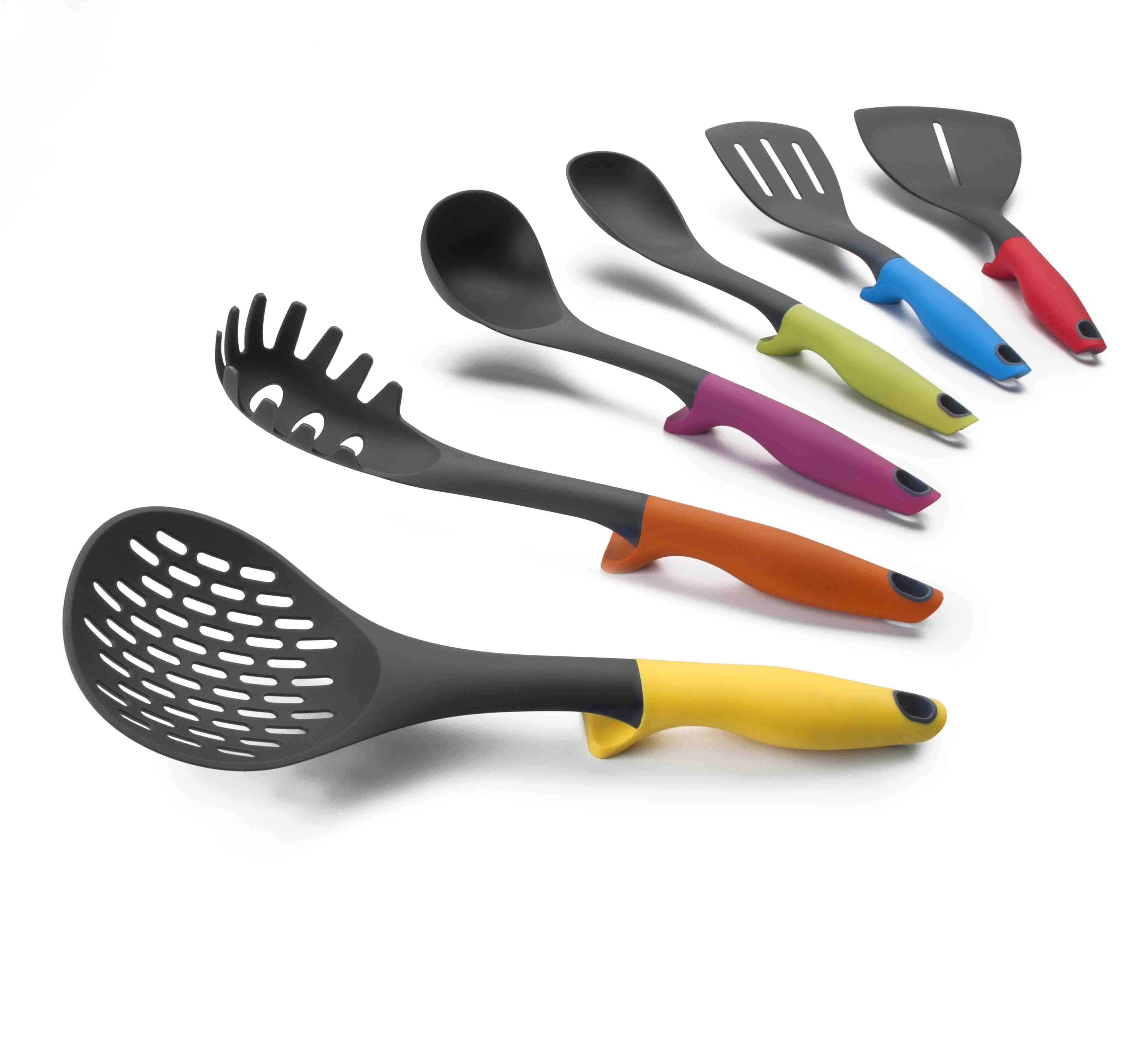 Colorful utensilios de cocina con dise o blog planeta for Soporte utensilios cocina